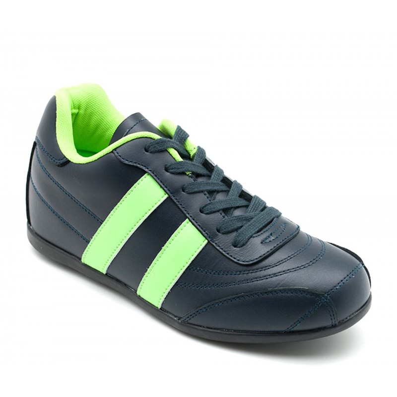 SORRENTO SPORT SHOES BLUE/GREEN +2''