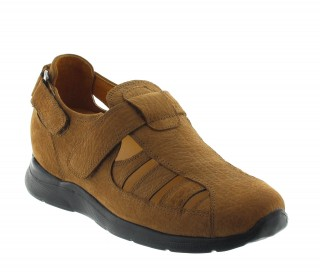 BOVA SANDAL LIGHT BROWN +2.6""