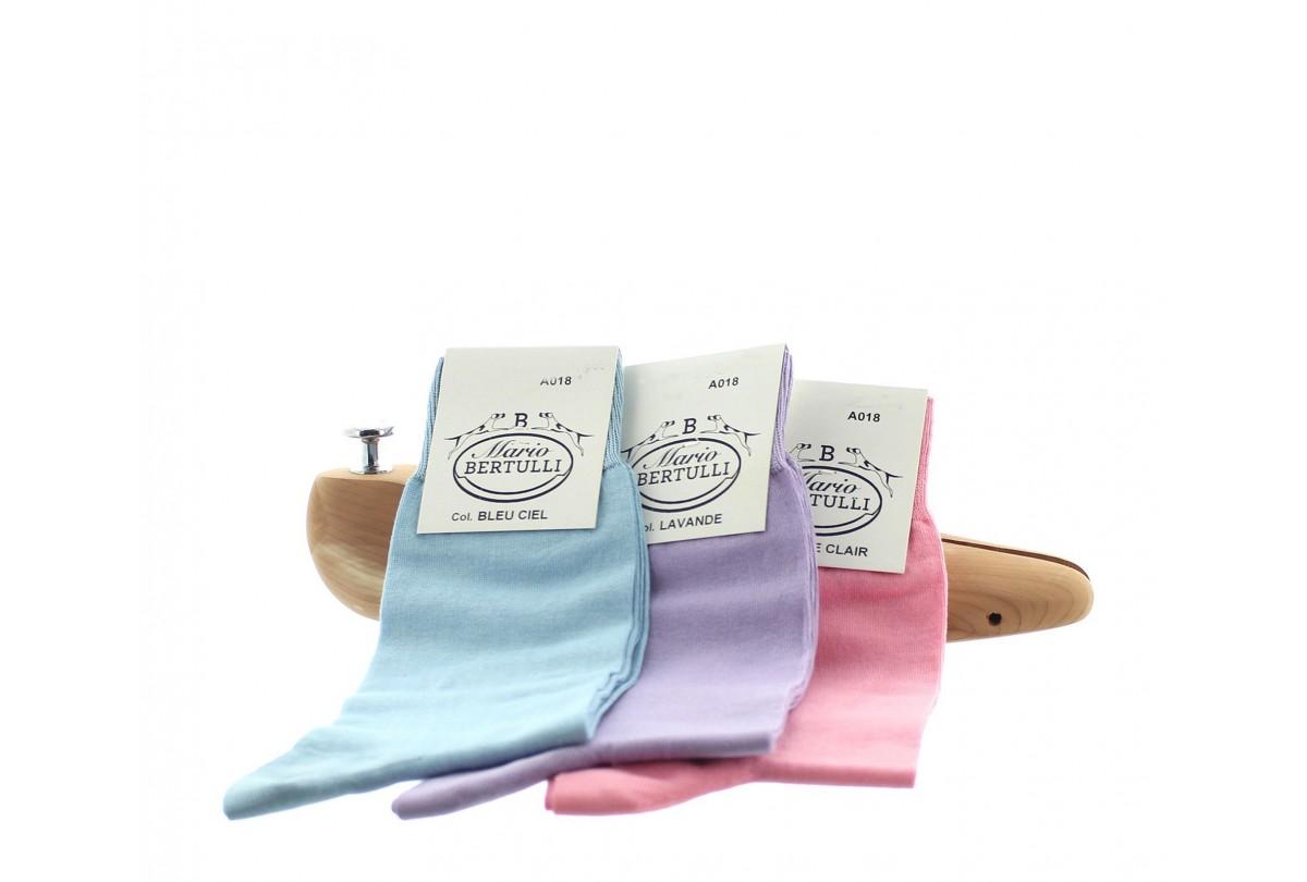 8e89381db253c5 3ER - PACK SOCKEN - Blauerhimmel/lavendelblau/rosa - MARIO BERTULLI