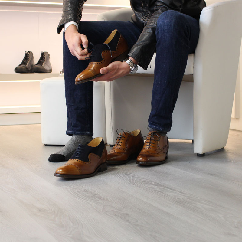 Schuheinlagen die größer machen von Mario Bertulli