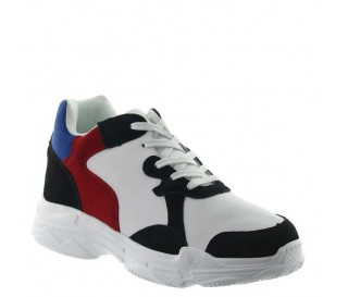 Height Increasing Sports Shoes Men - White - Nubuk / Leather - +2.8'' / +7 CM - Pienza - Mario Bertulli
