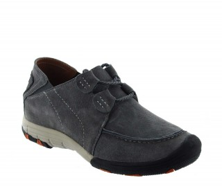Height Increasing Sports Shoes Men - Light gray - Nubuk - +2.0'' / +5 CM - Courmayeur - Mario Bertulli