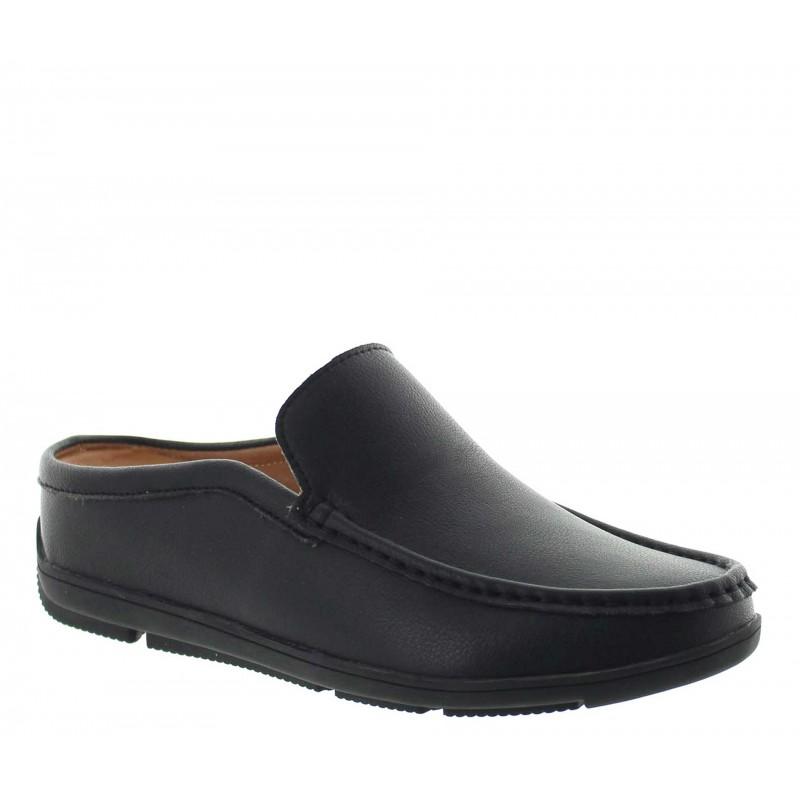 Height Increasing Sandals Men - Black - Leather - +2.2'' / +5,5 CM - Malpensa - Mario Bertulli