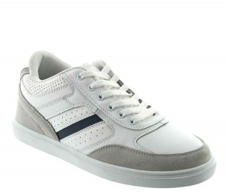 Albisola Elevator Sports Shoes White +2""