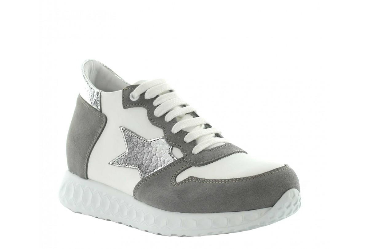 Height Increasing Sneakers | White