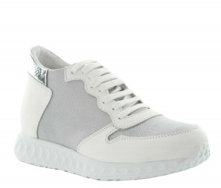 "Milla height increasing sneaker white +2.8"""