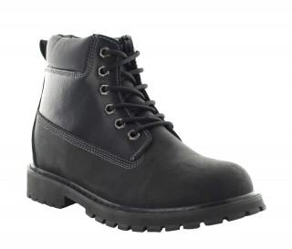 Height Increasing Boots Men - Black - Leather/nubuck - +3.0'' / +7,5 CM - Fornace - Mario Bertulli
