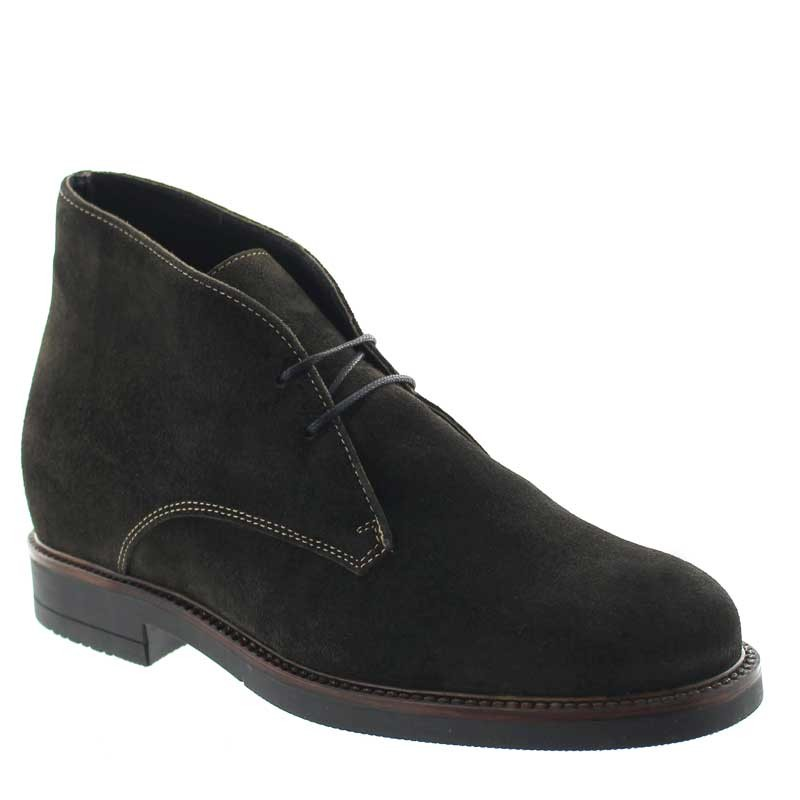 Height Increasing Boots Men - Brown - Leather - +3.2'' / +8 CM - Tione - Mario Bertulli