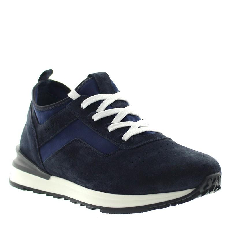"Ortovero Elevator Sneakers Navy blue +2.6"""