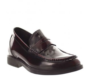Height increasing loafers Men - Burgundy - Leather - +2.6'' / +6,5 CM - Levico - Mario Bertulli