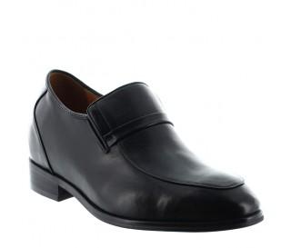 Height increasing loafers Men - Black - Leather - +3.2'' / +8 CM - Cagli - Mario Bertulli