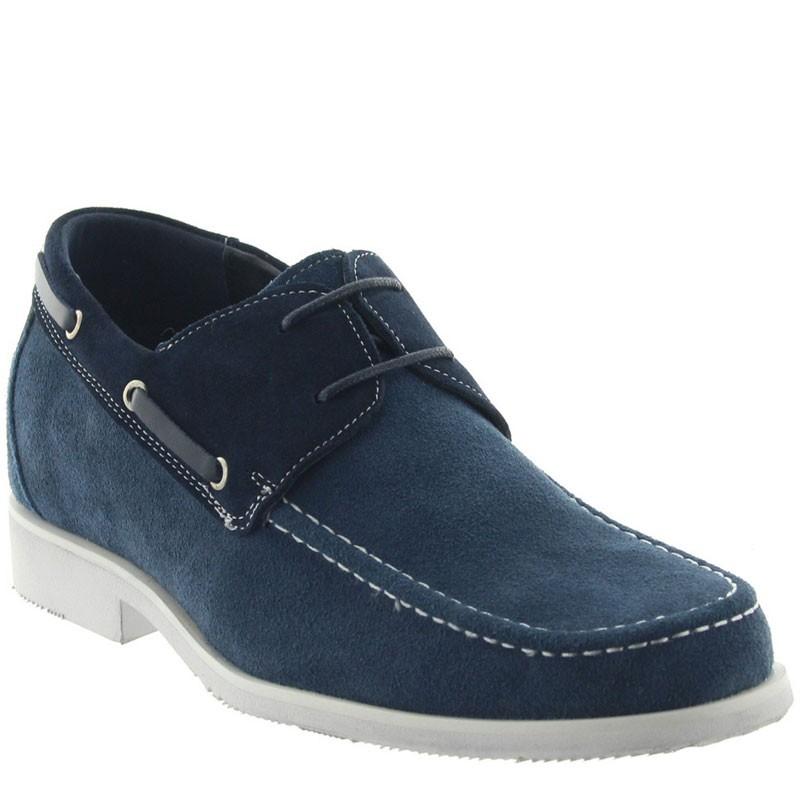 """Bardolino Elevator Shoes Blue +2.4"""""""