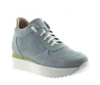 "Livia Women's Elevator Sneakers sky blue +2.8"""