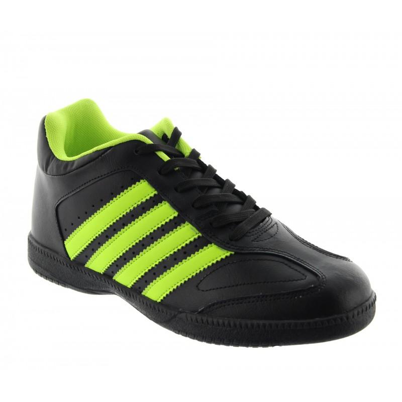 Height Increasing Sports Shoes Men - Black - Leather - +2.4'' / +6 CM - Vernazza - Mario Bertulli