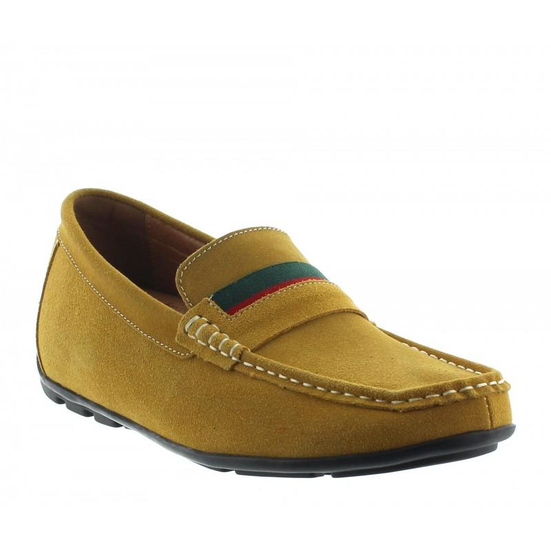 Sardegna Elevator Loafer Shoes Cognac +2''