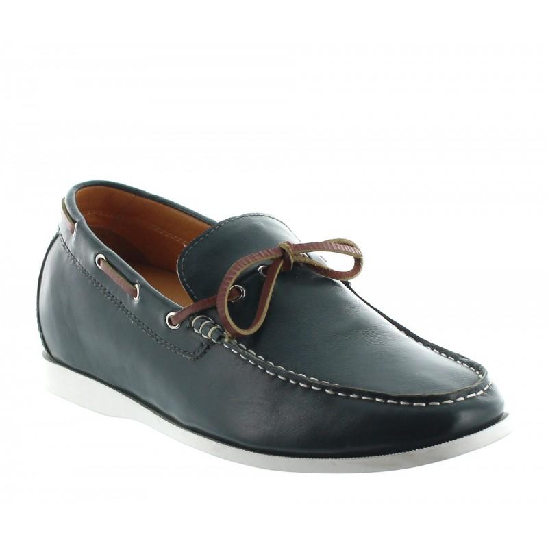 Height increasing loafers Men - Green - Leather - +2.2'' / +5,5 CM - Arenzano - Mario Bertulli