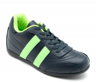 Sorrento elevator sport shoes blue/green +2''