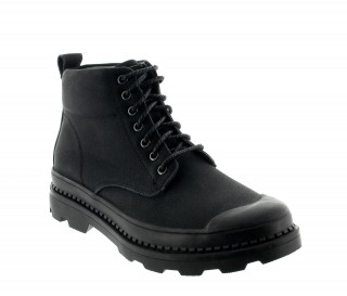 Height Increasing Boots Men - Black - Leather - +2.6'' / +6,5 CM - Castellaro - Mario Bertulli