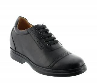 Sesto Elevator Shoes Black +3.6''