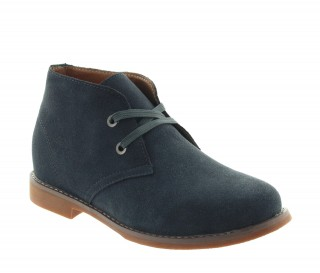 Height Increasing Boots Men - Dark gray - Nubuk - +2.4'' / +6 CM - Scilla - Mario Bertulli