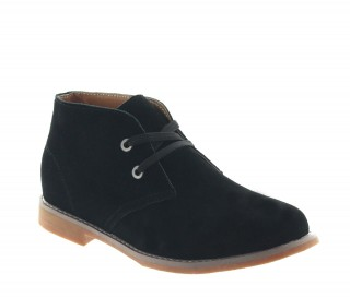 SCILLA HEIGHT INCREASING BOOTS BLACK +2.4""