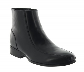 Height Increasing Boots Men - Black - Leather - +2.8'' / +7 CM - Vallebona - Mario Bertulli