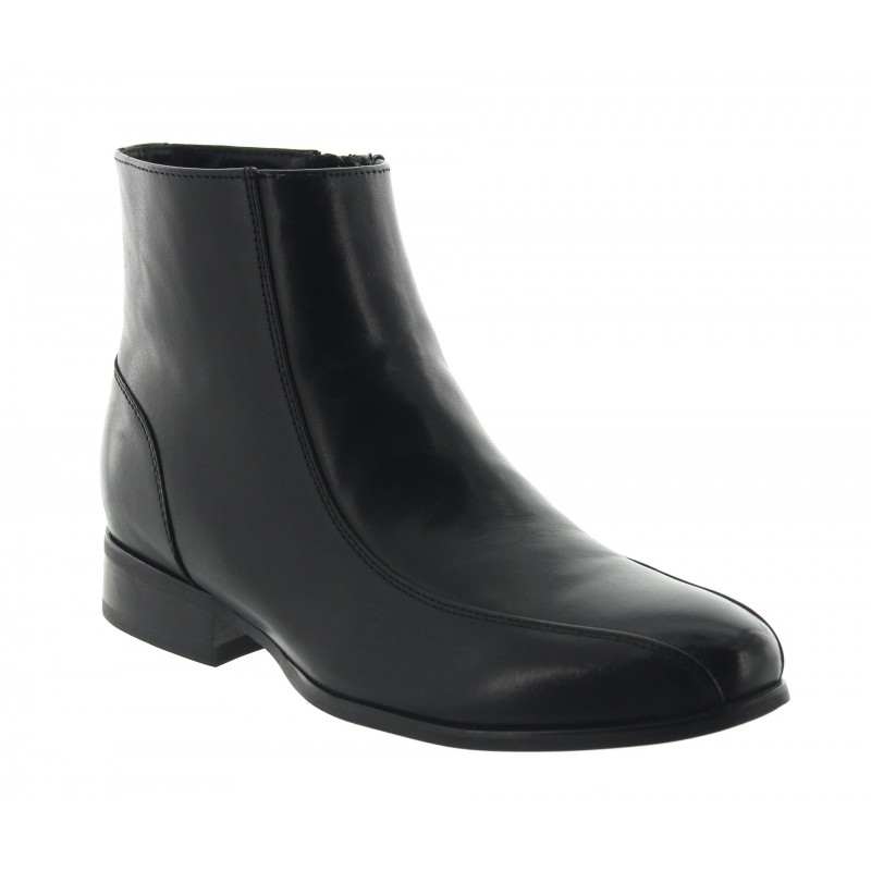 Vallebona height increasing boots in black