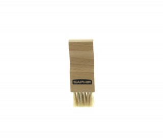 Pommadier brush - white