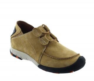 Chaussures rehaussantes Courmayeur cognac +5cm