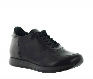 Sneakers rehaussantes Vellano noir +7cm