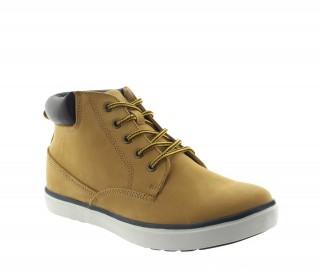 Caluso Sneakers Rehaussantes Cognac +6cm