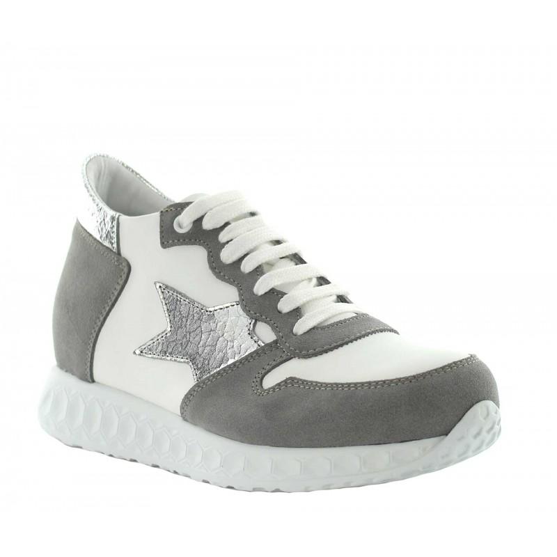 Sneakers rehaussantes Giulia - beige +7cm