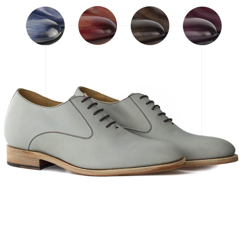 Chaussures rehaussantes Lorenzo Patiné à la main +6cm