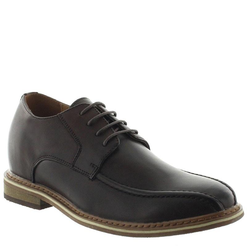 chaussures derby compensées Homme - Marron - Cuir - +7 CM - Osento - Mario Bertulli