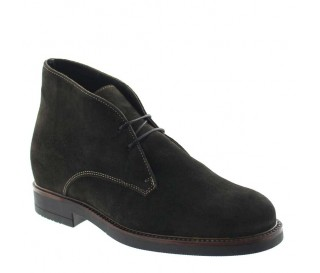 Bottines rehaussantes Tione marron +8cm