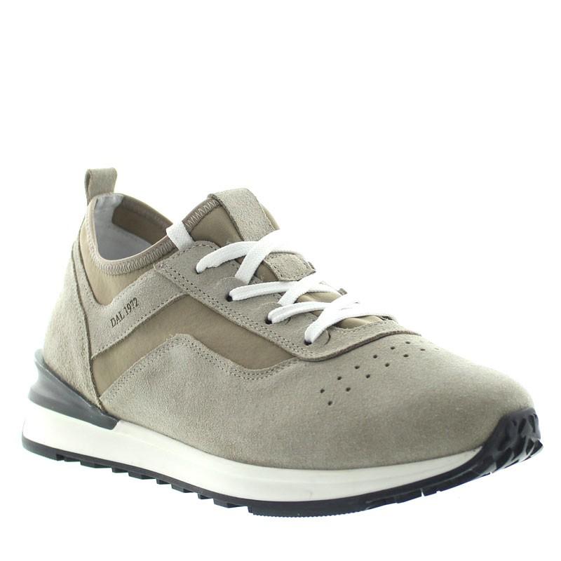 Sneakers Rehaussantes Ortovero Sable +6,5cm