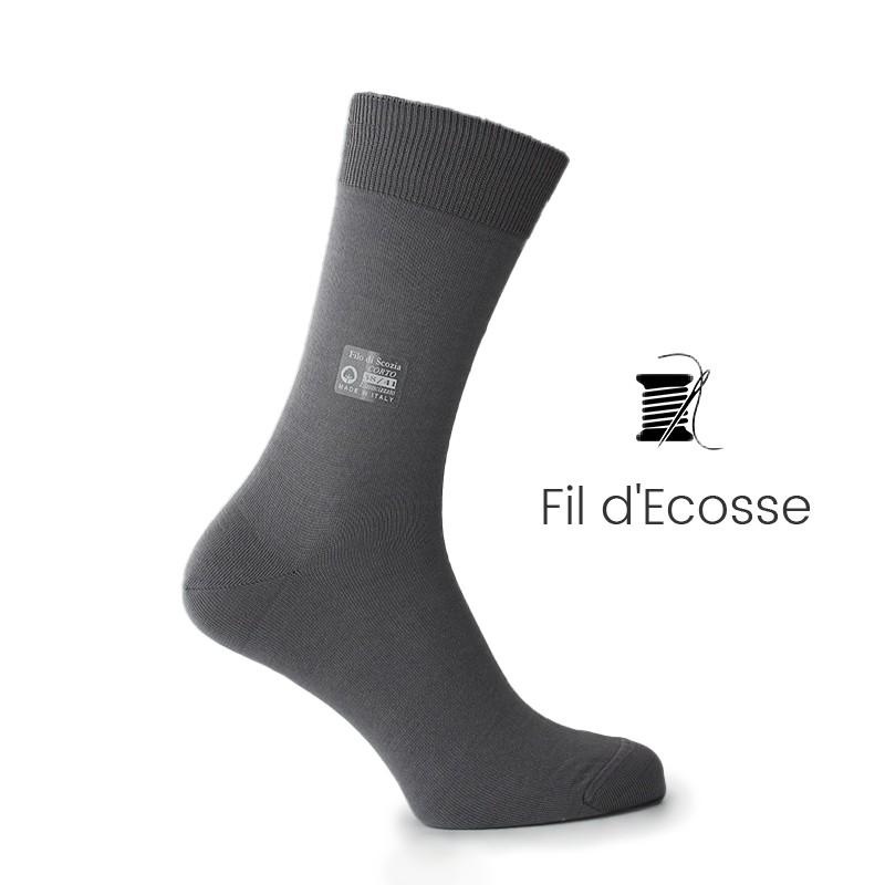 Chaussettes fil d'ecosse - chaussettes fil d'ecosse Homme - Mario Bertulli specialiste de la chaussure grandissante