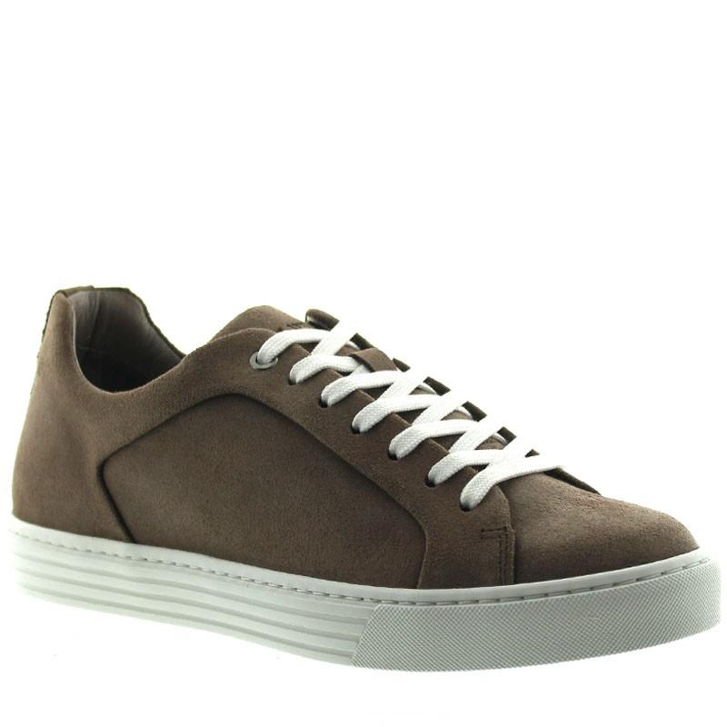 Sneakers Rehaussantes Ranzo Marron +6cm
