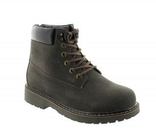 Boots frabosa marron +7cm