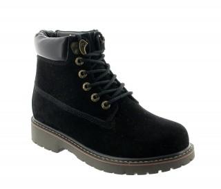 Boots rehaussantes Frabosa noir +7cm