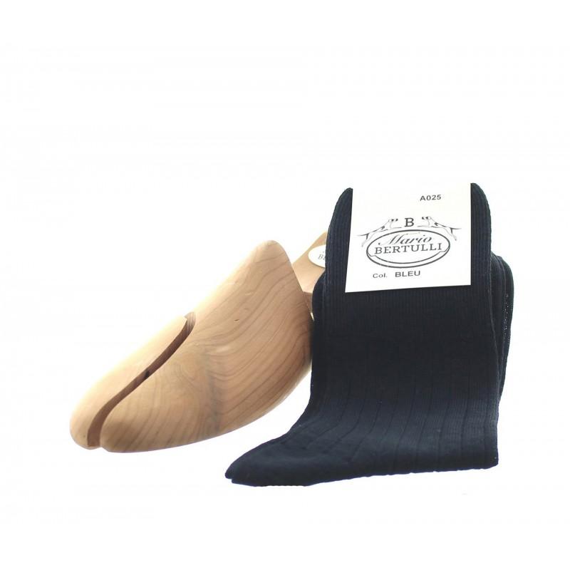 Chaussettes sans compression - chaussettes laine Homme - Mario Bertulli specialiste de la chaussure grandissante