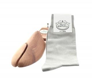 Chaussettes fil d'Ecosse gris
