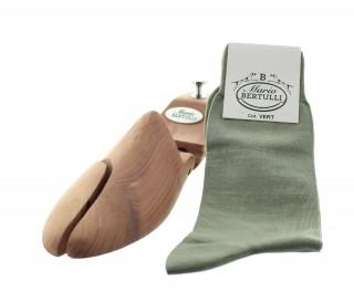 Chaussettes fil d'Ecosse vert
