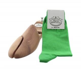 Chaussettes fil d'Ecosse menthe