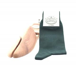 Chaussettes fil d'Ecosse kaki