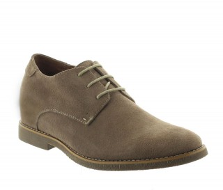 CHAUSSURE CEFALU TAUPE CLAIR +5CM
