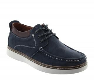 Chaussures rehaussantes Pistoia gris fonce +5.5cm