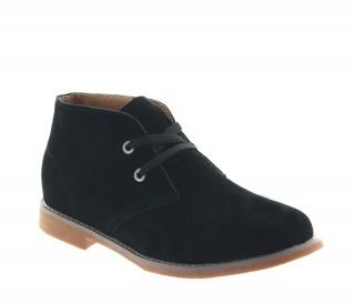 Boots rehaussantes Scilla noir +6cm