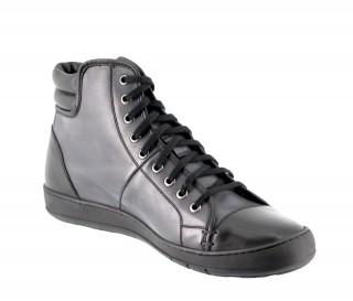 Sneaker toronto noir/gris +6cm