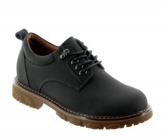 Chaussure serri noir +6cm